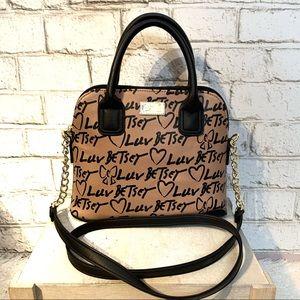 Betsy Johnson Satchel Bag NWT